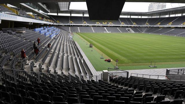 Stade de Suisse, Berne. [Peter Schneider - Keystone]