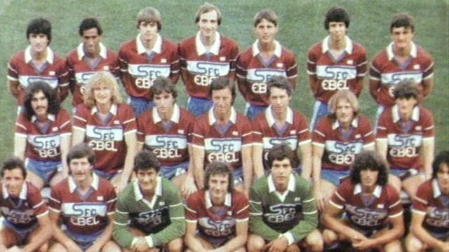 Servette FC dans les années 80. [RTS]