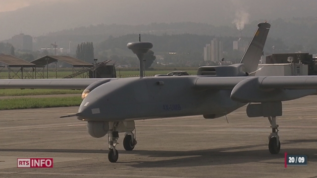 Les drones de l'armée Suisse offrent des résultats édifiants