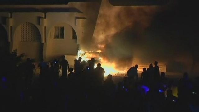 équences choisies - Les images du soulèvement à Benghazi