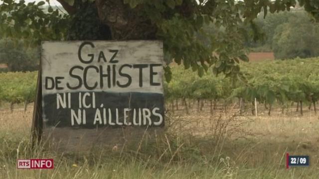 France: la guerre contre l'exploitation du gaz de schiste a commencé dans le sud du pays