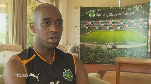 Football: rencontre avec Gelson Fernandez, nouveau joueur du Sporting Lisbonne