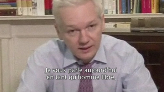 Julian Assange s'exprime devant les Nations Unies