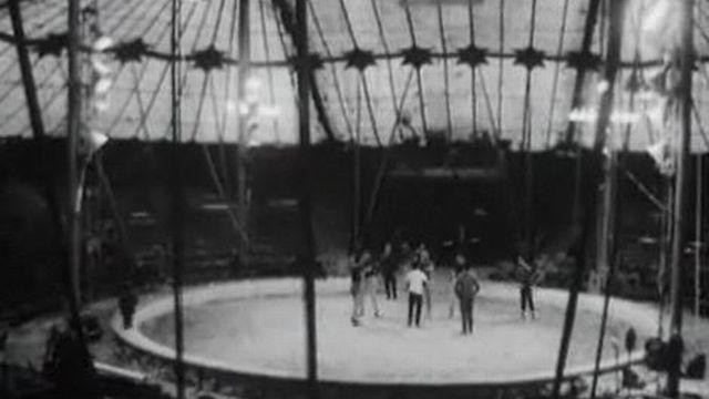 Le cirque Knie en 1962. [RTS]