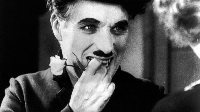 """Charlie Chaplin dans """"Les lumières de la ville"""". [AFP]"""