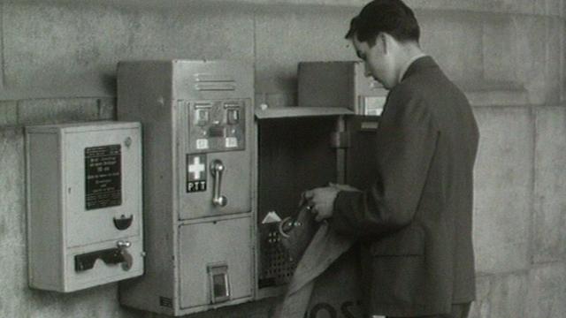 La poste dans les années 1960. [RTS]