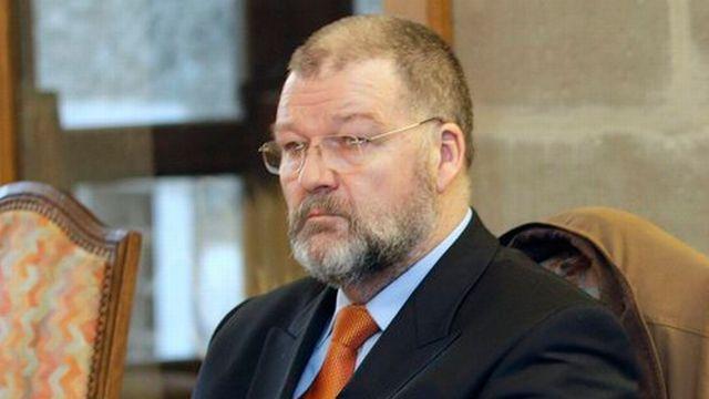Le magistrat Stéphane Geiger (photo) aurait de nouveau menacé le juge Daniel Devaud de lui envoyer un seau d'eau. [Keystone]
