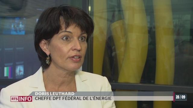 La stratégie énergétique du Conseil Fédéral passera par d'importantes mesures d'économies