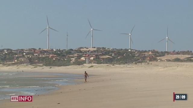 Reportage au nord-est du Brésil au sujet de l'installation d'éoliennes