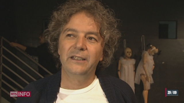 Le clown et metteur en scène Daniele Finzi Pasca a reçu à Lugano l'Anneau Reinhart, la plus haute distinction théâtrale de Suisse