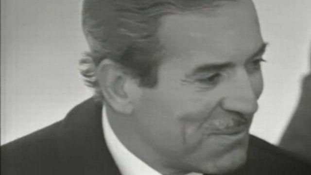 Maurice Herzog en 1970 [TSR (Cap sur l'aventure du 14 février 1970)]