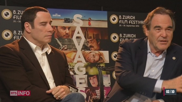 Le dernier film d'Oliver Stone, Savages, sortira mercredi dans les salles