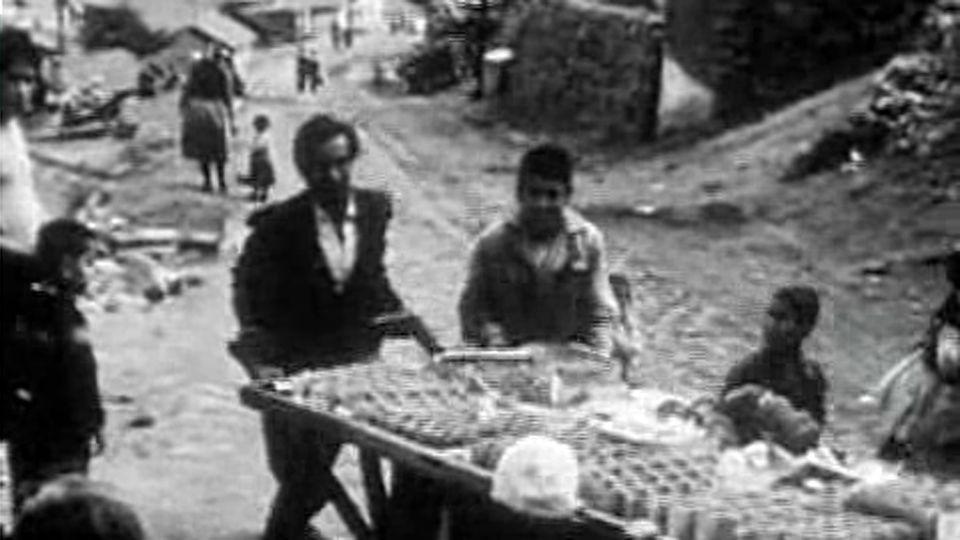 Rue d'Ankara (Turquie) en 1961. [RTS]