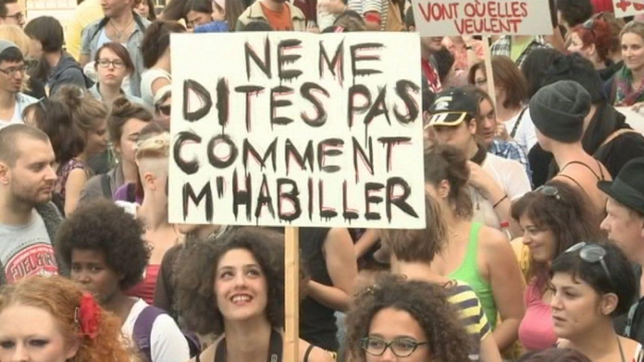 """Séquences choisies - Une """"marche des salopes"""" en Suisse"""