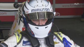 Portrait de Mathéo Tuscher, un jeune vaudois pilote de Formule 2