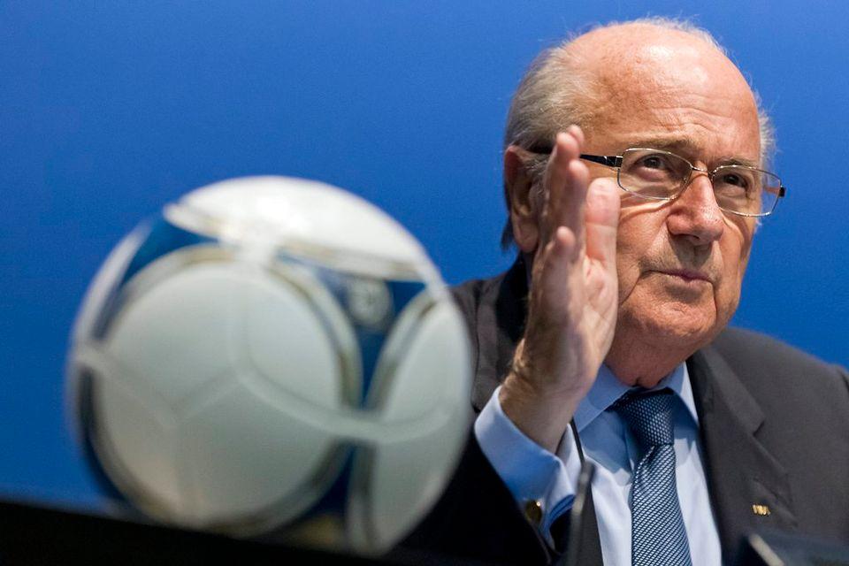 Sepp Blatter, président de la FIFA [Keystone]