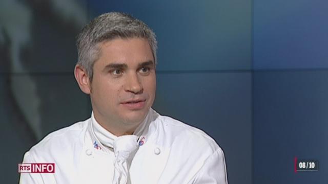 Benoît Violier, successeur de Fredy Girardet et de Philippe Rochat, a été sacré cuisinier de l'année par GaultMillau