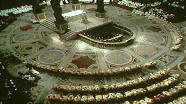 Réunion du Concile de Vatican II [RTS]