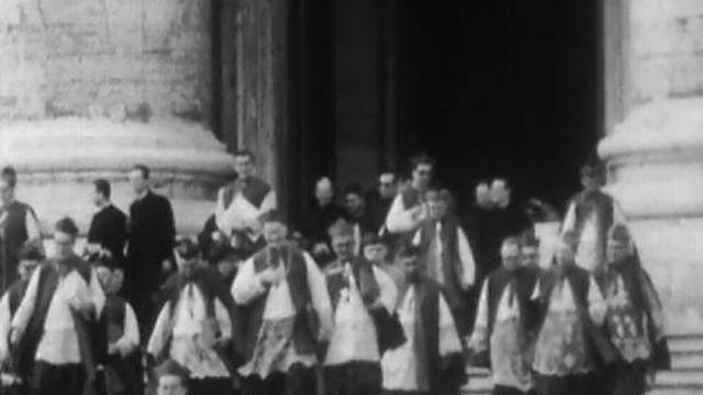 Concile de Vatican II. [RTS]