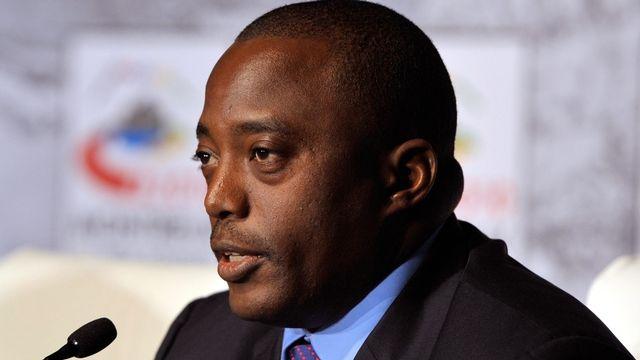 Joseph Kabila, président de la République démocratique du Congo. [Dominic Favre - Keystone]