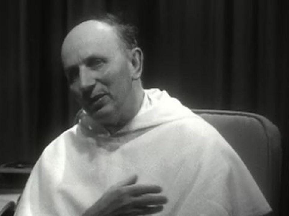 Yves Congar en 1963. [RTS]