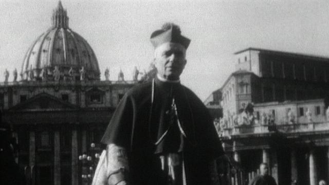 A Rome, durant Vatican II. [RTS]
