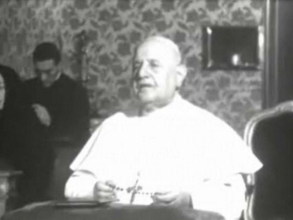 Le pape Jean XXIII. [RTS]