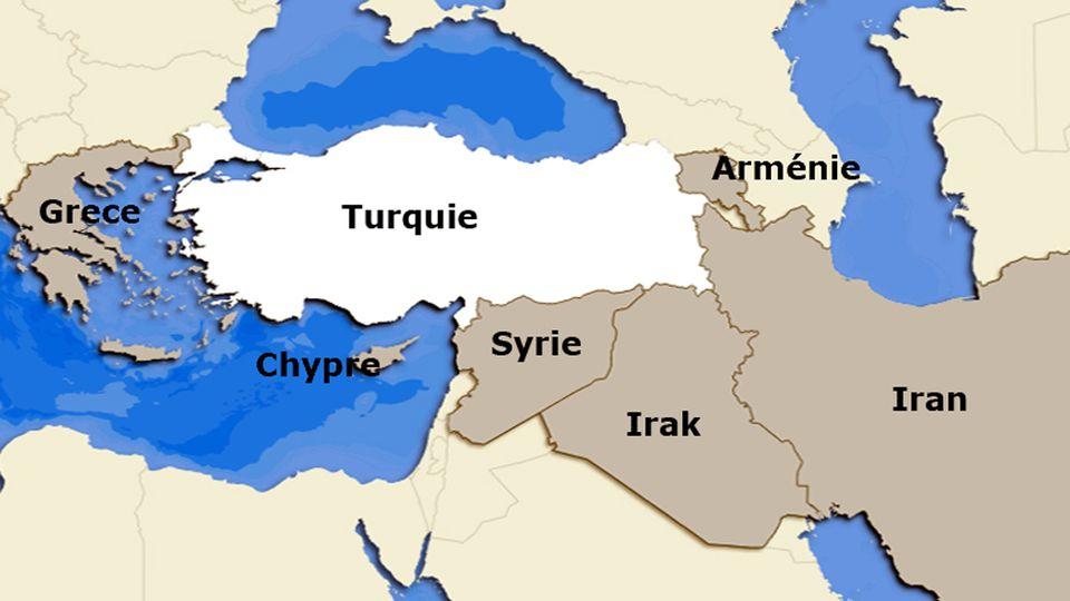 La Turquie et ses voisins. [RTS]