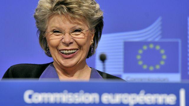 La commissaire européenne à la Justice Viviane Reding. [Georges Gobet - AFP]