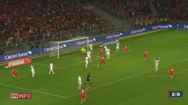 Football/Qualifications pour la coupe du monde 2014: l'équipe de Suisse se contente d'un match nul (1-1) contre la Norvège