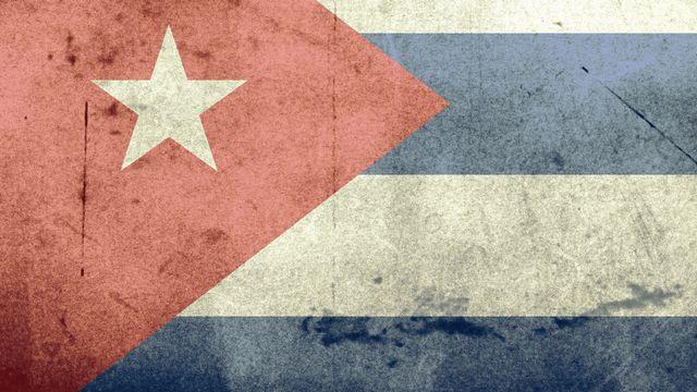 Drapeau de Cuba. [Wikimedia commons]