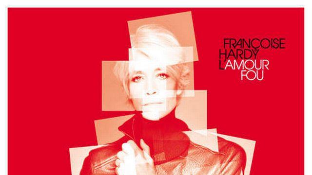 """Pochette de l'album """"L'amour fou"""" de Françoise Hardy. [Virgin]"""