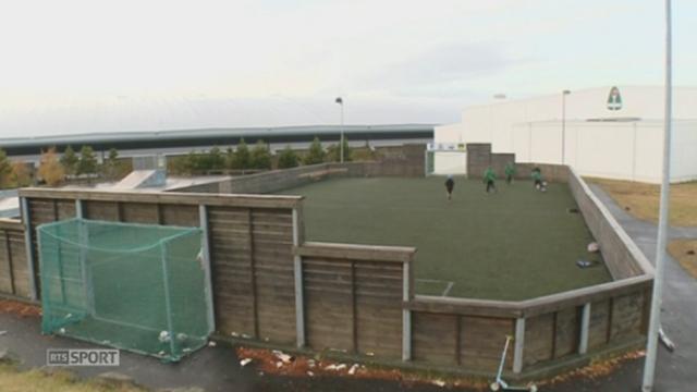 Football / reportage sur le football en Islande