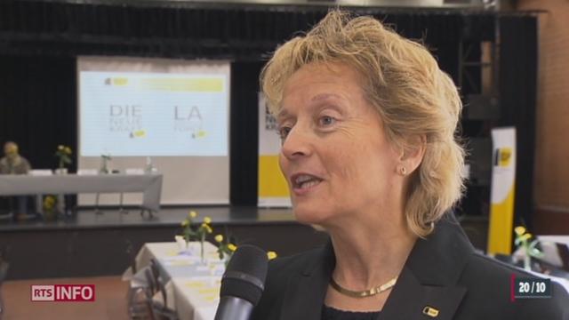 Abolition des statuts fiscaux à Genève, Neuchâtel et Zurich: réaction d'Eveline Widmer-Schlumpf, Cheffe du Département fédéral des finances
