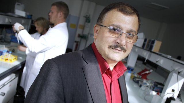 Le biologiste Gilles-Eric Séralini, auteur de l'étude sur les OGM. [Charly Triballeau - AFP]