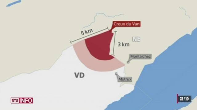 Les cantons de Vaud et de Neuchâtel ont trouvé un accord concernant le parc éolien de Provence