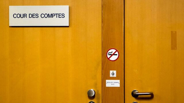 Les tensions à la Cour des comptes genevoise prend une tournure judiciaire. [Salvatore Di Nolfi - Keystone]