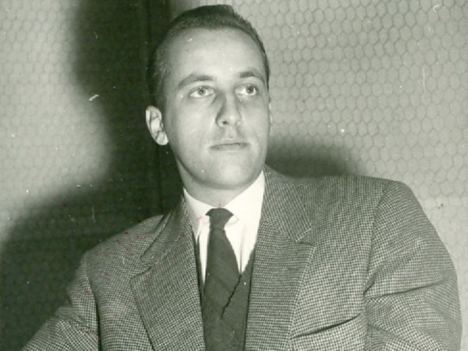 Le journaliste Bernard Laurent, alias Laurent Marti [RSR]
