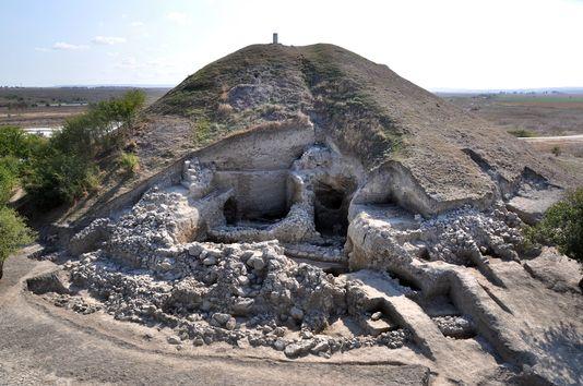 La ville préhistorique comptait quelque 350 habitants. [AFP]
