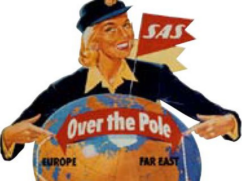 SAS over the pole 1957 [site SAS, Domaine public.]