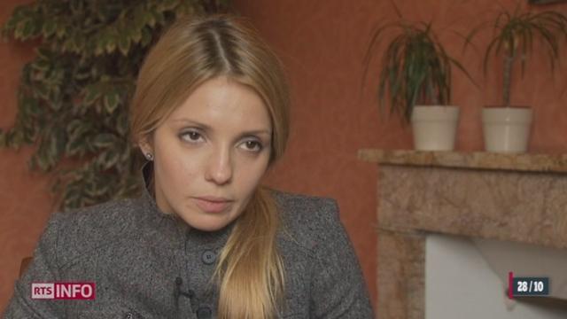La fille de Loulia Timochenko était à Genève cette semaine pour faire entendre la voix de sa mère devant la Commission des droits de l'homme