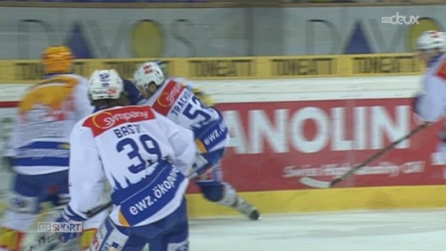 Hockey / Championnat de Suisse de LNA (19e j.): Davos ne fait qu'une bouchée de Zurich à domicile (5-1)