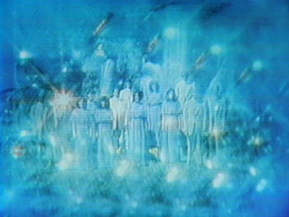 Emission de télévision religieuse. [RTS]