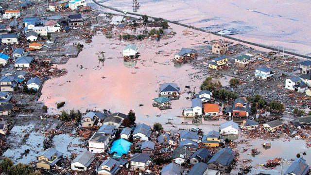 La côte japonaise a été violemment touchée par le tsunami. [Keystone]
