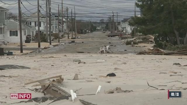 États-Unis: le bilan a été revu à la hausse sur la côte Est qui compte 82 morts après l'ouragan Sandy