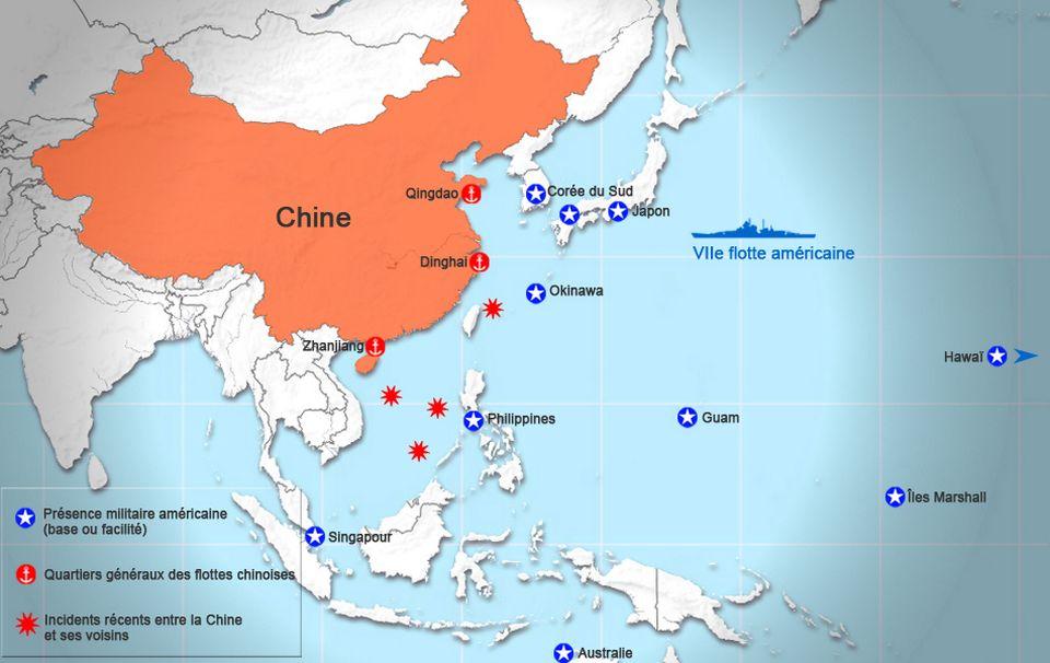 Carte Australie Chine.Geopolitis Chine Etats Unis Vers Une Nouvelle Guerre Du