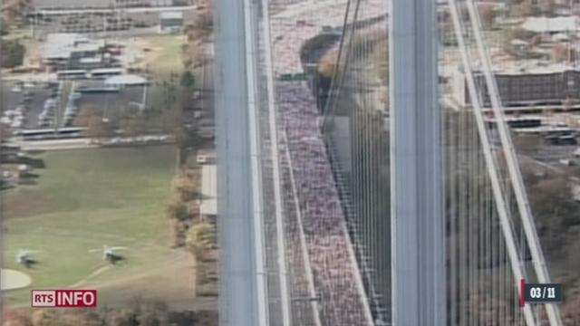 La mythique course du marathon de New York a été annulée suite aux dégâts causés par l'ouragan Sandy