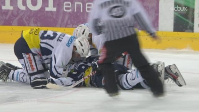 Hockey / Championnat de Suisse de LNA (21e j.): Langnau - Ambri (4-5)