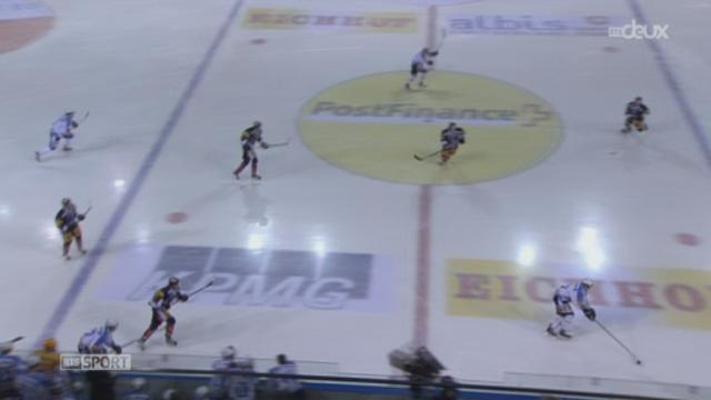 Hockey / Championnat de Suisse de LNA (21e j.): Zoug - Fribourg-Gottéron (2-0) + itw. Alain Birbaum (défenseur Fribourg-Gottéron)