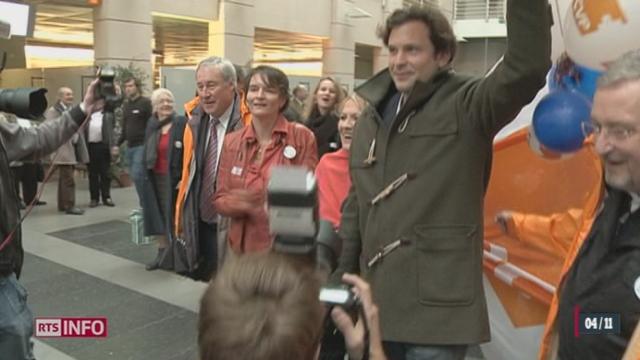 GE: Guillaume Barazzone reprend le siège laissé vacant par Pierre Maudet au Conseil administratif de la ville